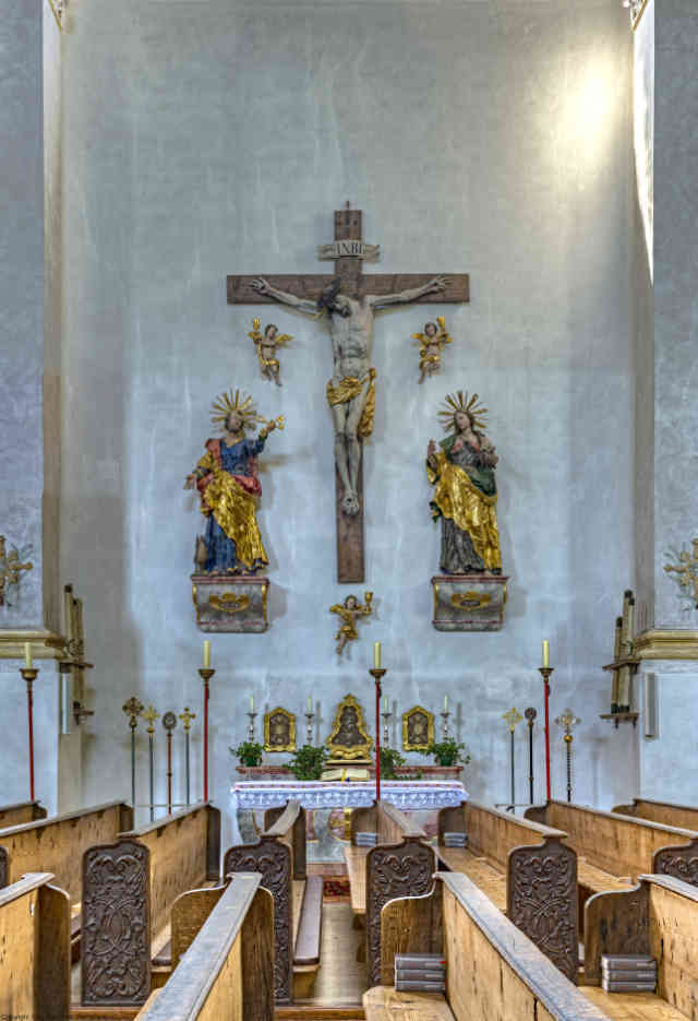 Ruhpolding Kirche St. Georg 04