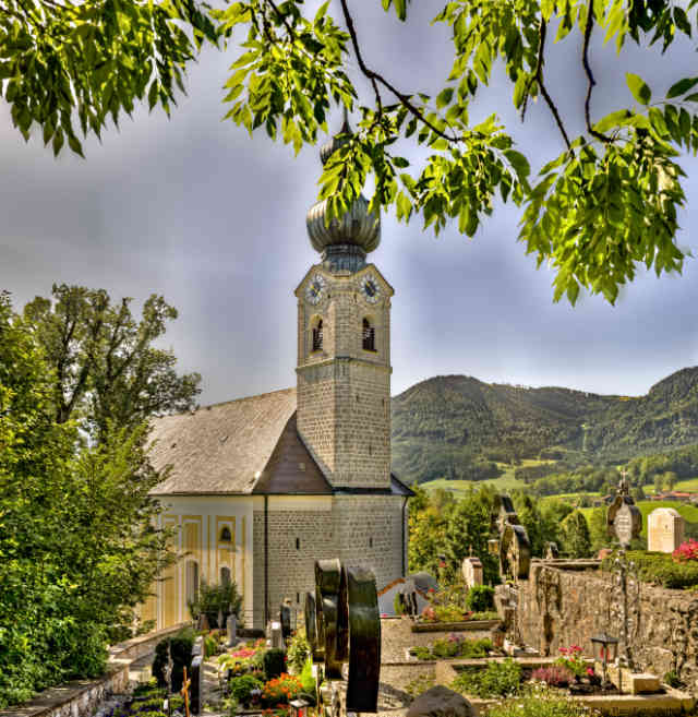 Ruhpolding Kirche St. Georg 15