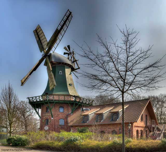 Oldenburg Mühle Windmühle